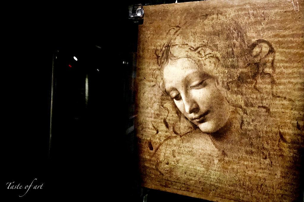 Taste of art - La Scapiliata di Leonardo da Vinci