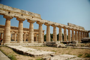 Taste of art - Paestum Basilica interno