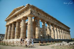 Taste of art - Paestum Tempio di Nettuno