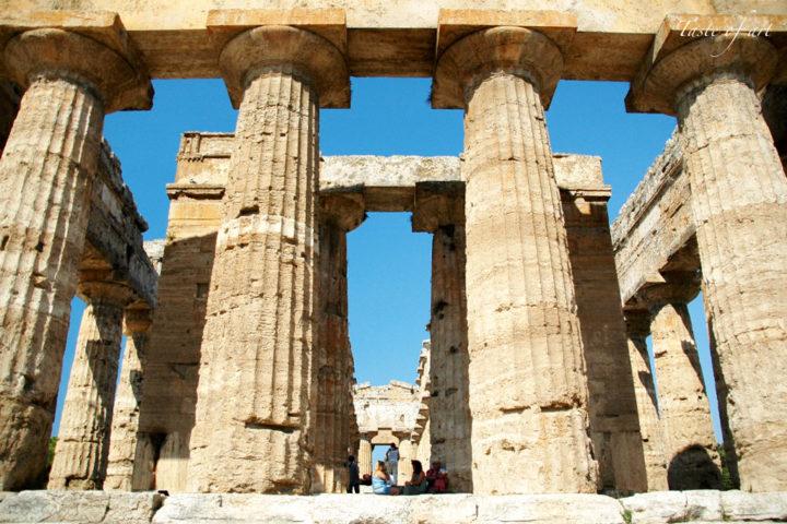 Taste of art - Paestum Tempio di Nettuno fronte