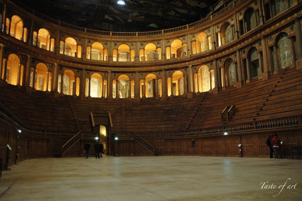Taste of art - Teatro Farnese