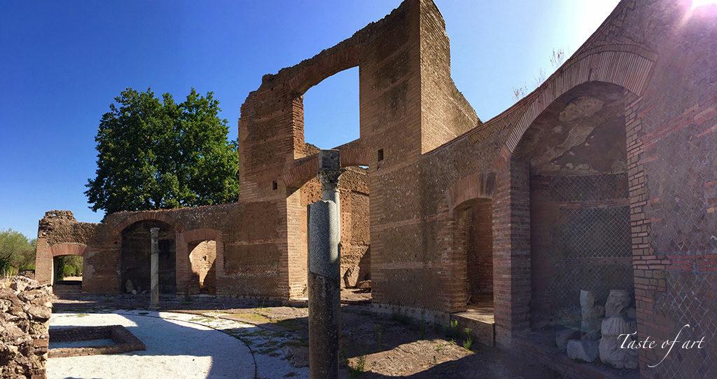 Taste of art - Villa Adriana Tivoli