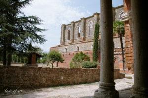 Taste of art - San Galgano chiostro