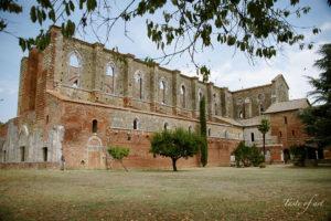 Taste of art - San Galgano esterno