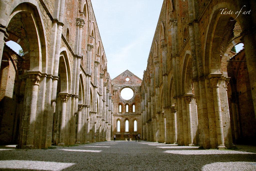 Taste of art - San Galgano interno
