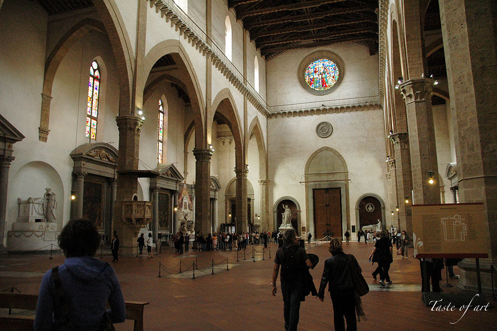 Taste of art - interno Santa Croce