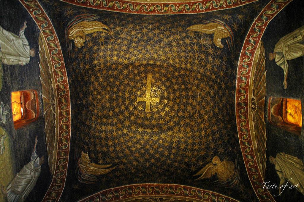 Taste of art - Galla Placidia mosaici interno