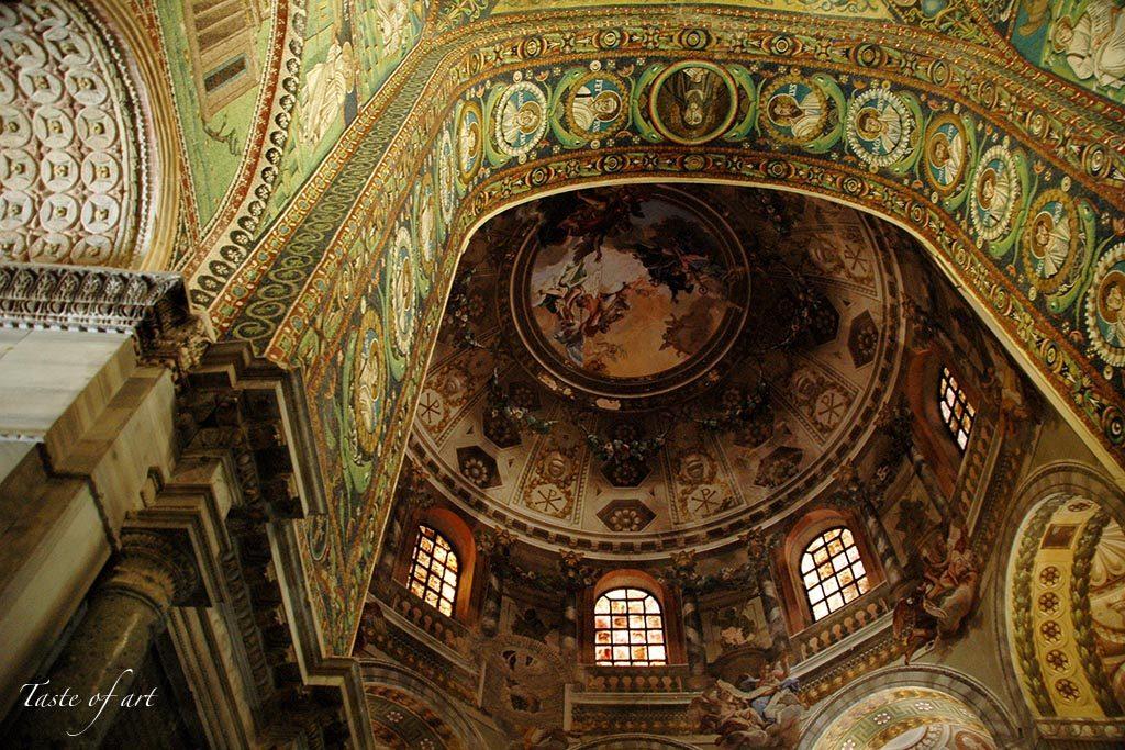 Taste of art - San Vitale interno mosaici