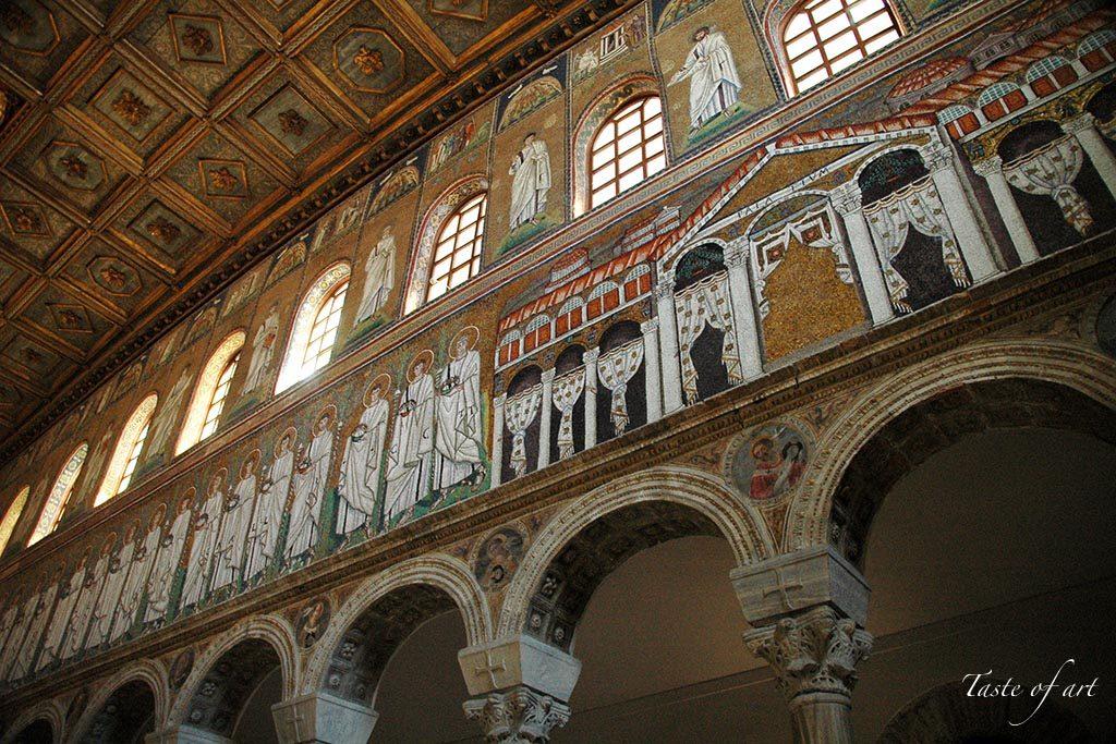 Taste of art - Sant'Apollinare Nuovo interno