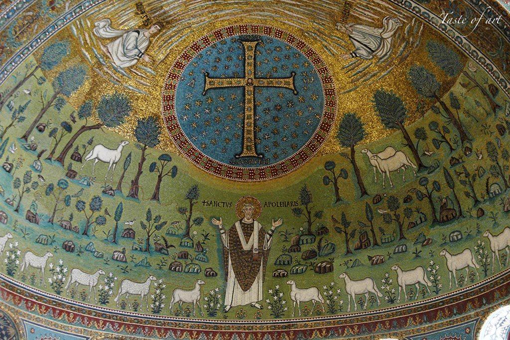 Taste of art - Sant'Apollinare in Classe interno