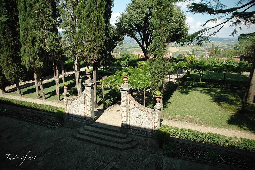 Taste of art - Villa Medicea Giardino