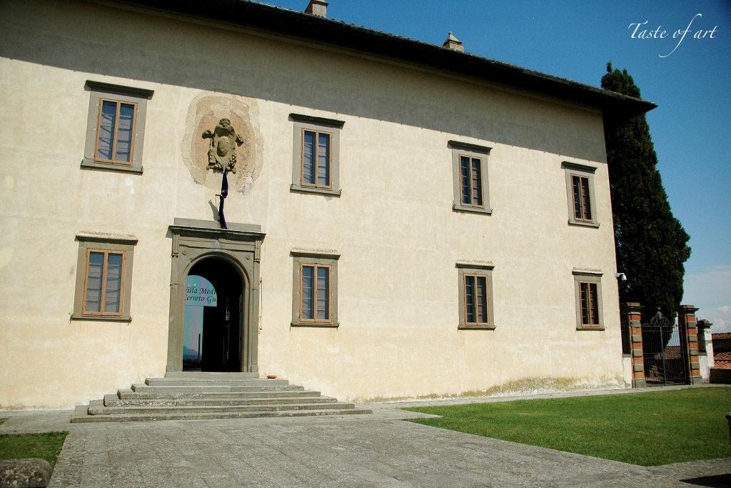 Taste of art - Villa Medicea ingresso