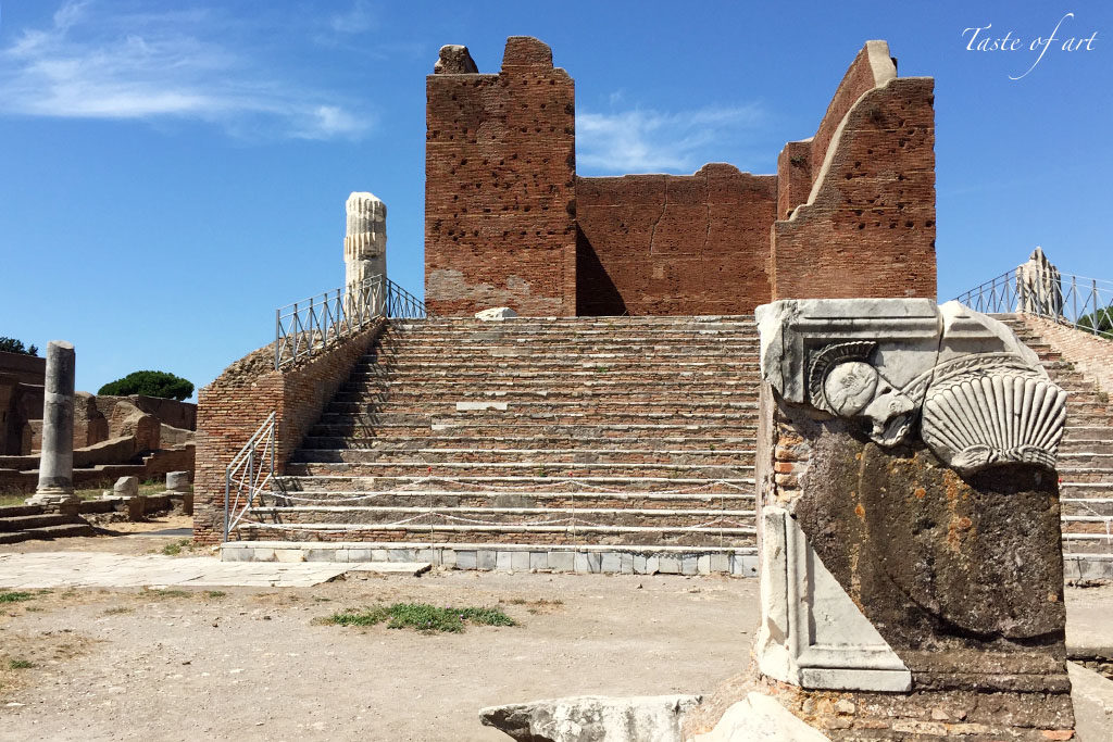 Taste of art - Capitolium Ostia