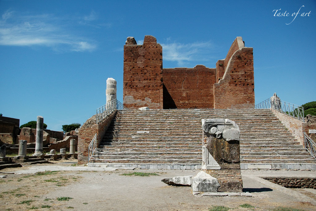 Taste of art - Capitolium Ostia Antica