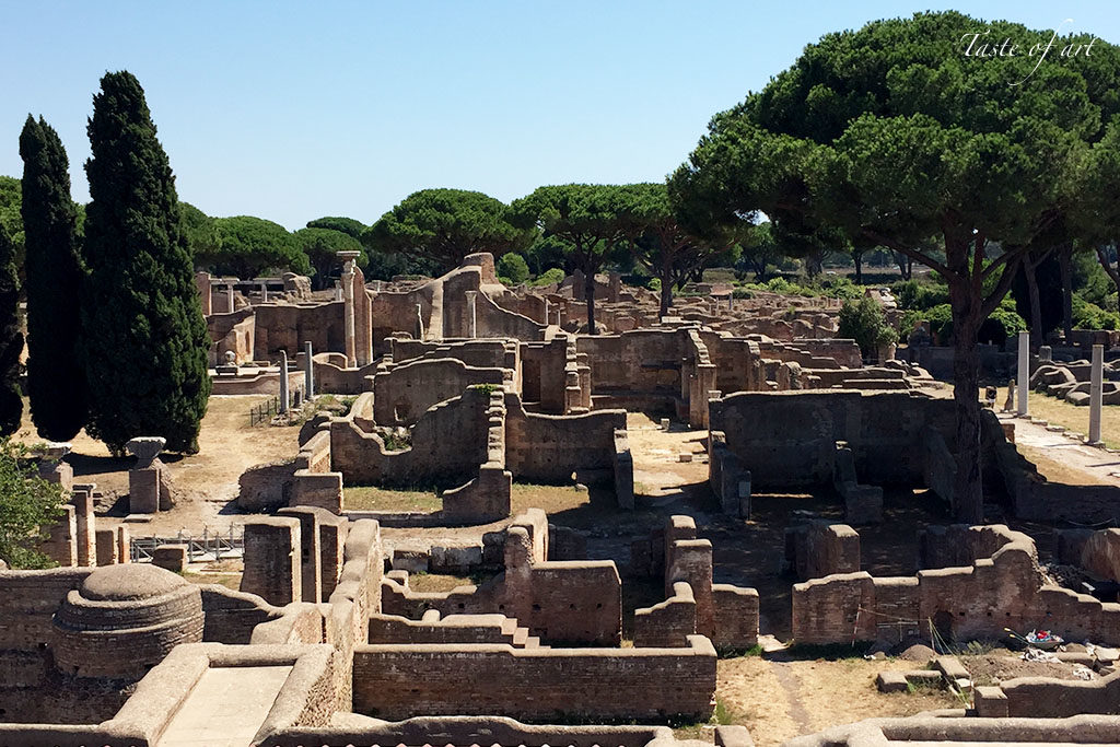 Taste of art - Ostia Antica