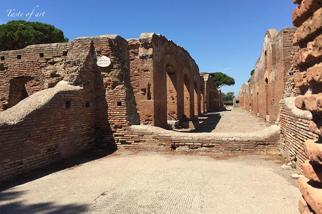 Taste of art - Ostia antica particolare