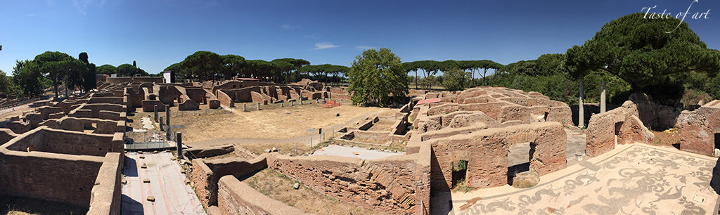 Taste of art - Panoramica Ostia Antica