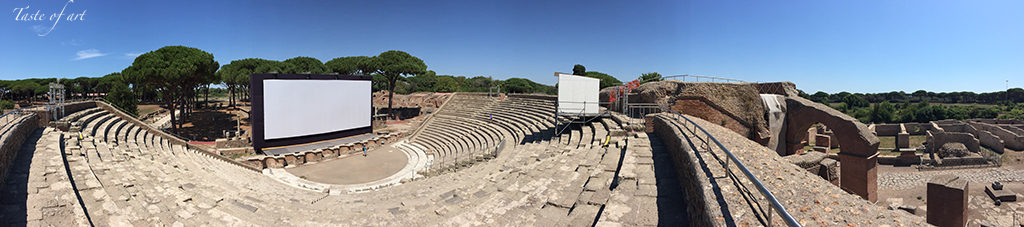 Taste of art - Teatro Ostia Antica