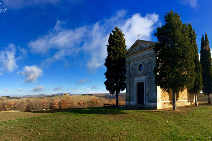 Taste of art - Cappella di Vitaleta