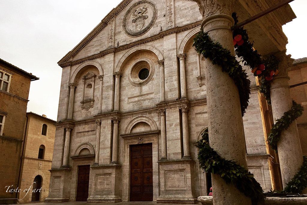 Taste of art - Duomo Pienza