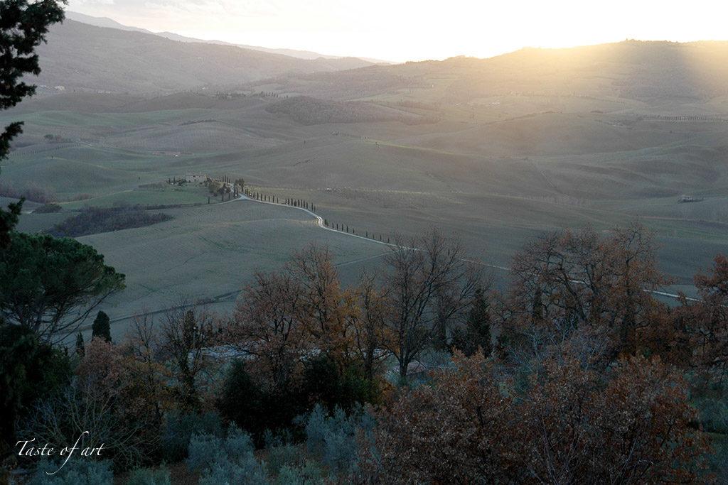 Taste of art - Pienza panorama