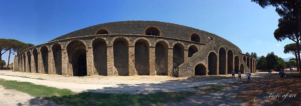 Taste of Art - Pompei anfiteatro