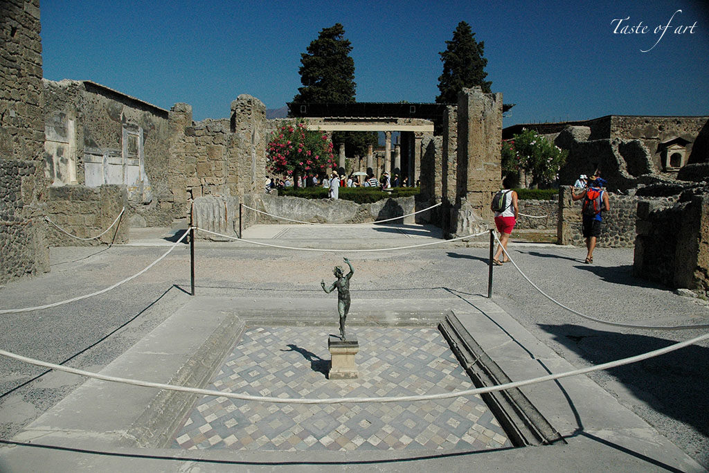 Taste of Art - Pompei casa del fauno