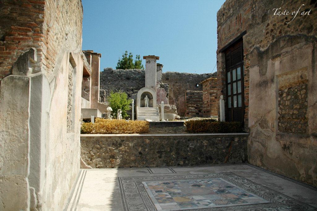 Taste of Art - Pompei domus