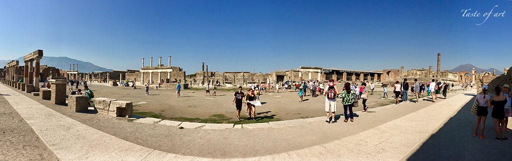 Taste of Art - Pompei panoramica