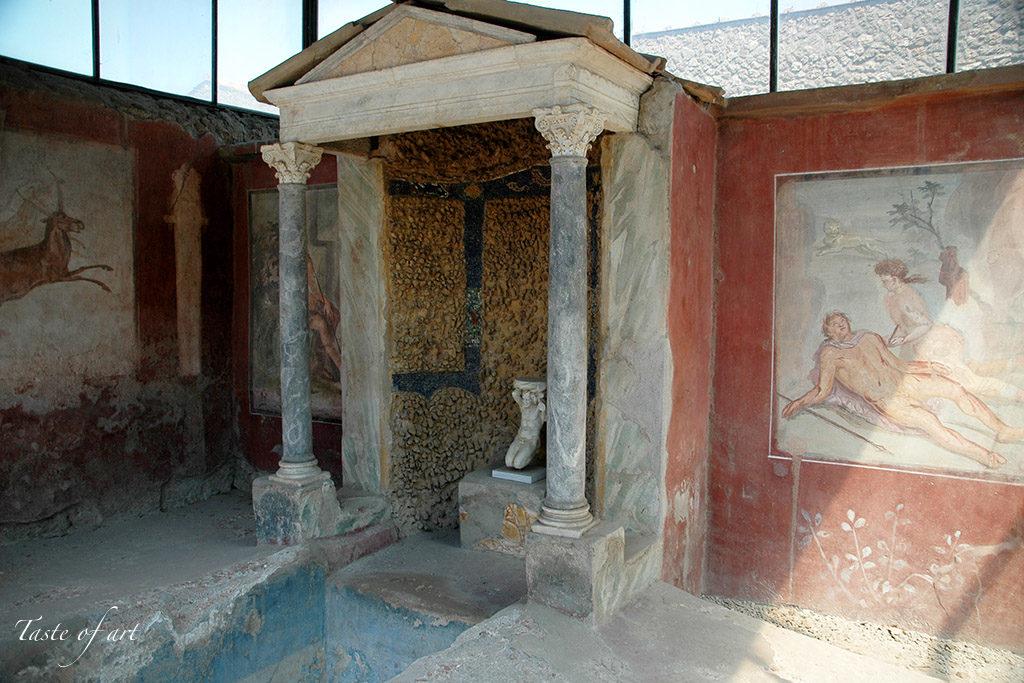 Taste of Art - Pompei villa dei papiri