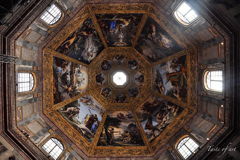 Taste of art - Cupola Cappella dei Principi