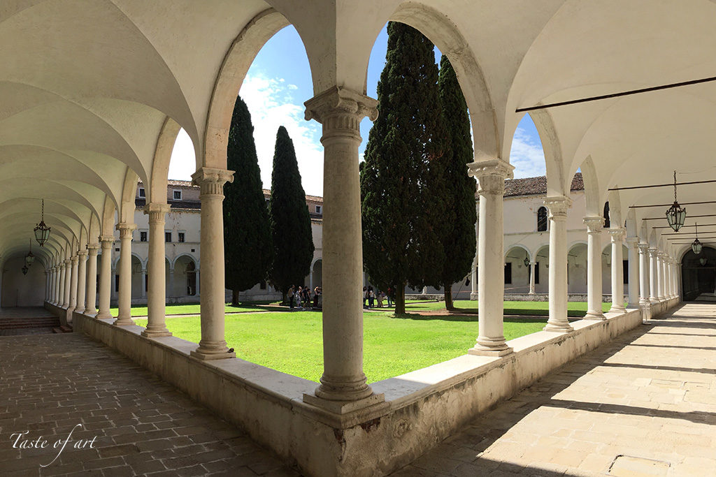 Taste of art - Venezia Fondazione Cini chiostro