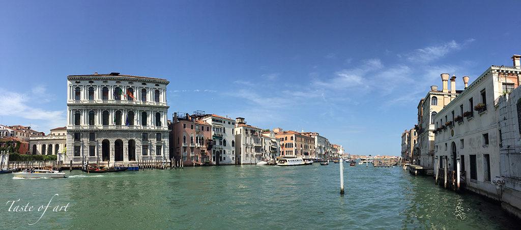 Taste of art - Venezia canale