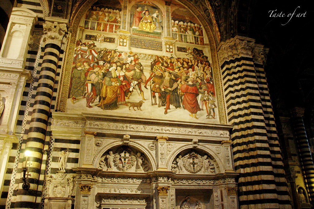 Taste of art - Cattedrale Siena