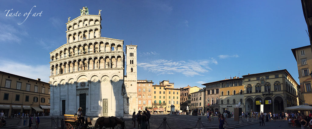 Taste of art - Lucca San Michele in Foro