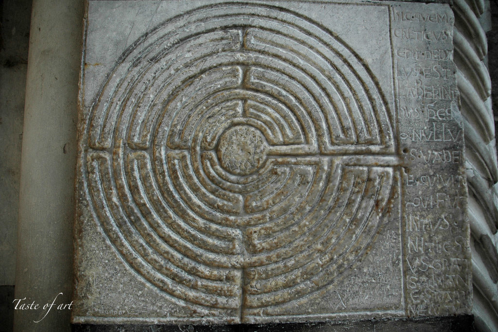 Taste of art - Lucca labirinto